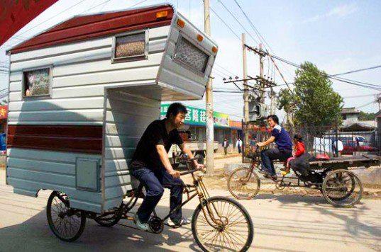 Pedel Power Trike Camper