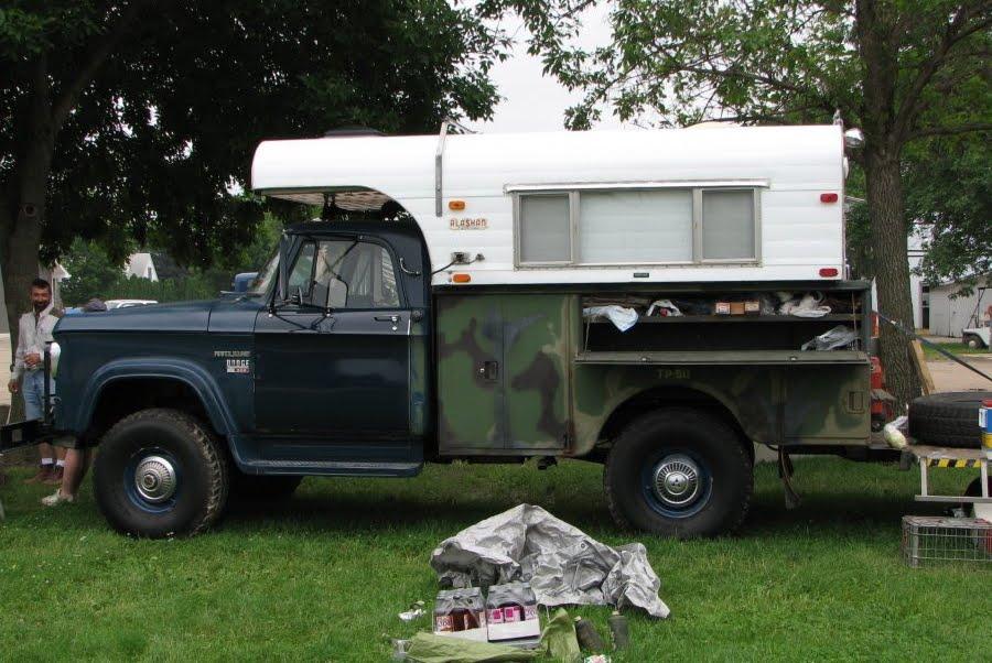 Dodge D200 Camper Special