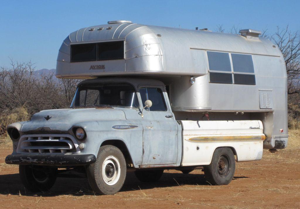 Chevrolet Truck Avion Camper