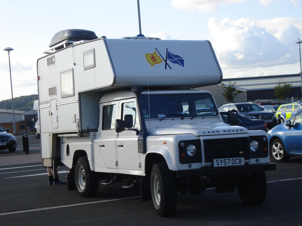 Land Rover Leisure Campers