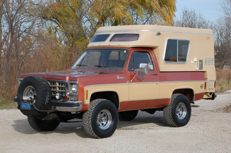 Chevrolet Fiberglass Camper