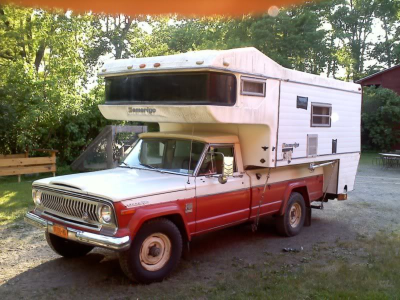 Amerigo Camper Jeep Wagoneer Truck