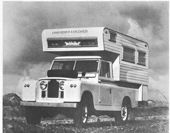 Land Rover Explorer Camper