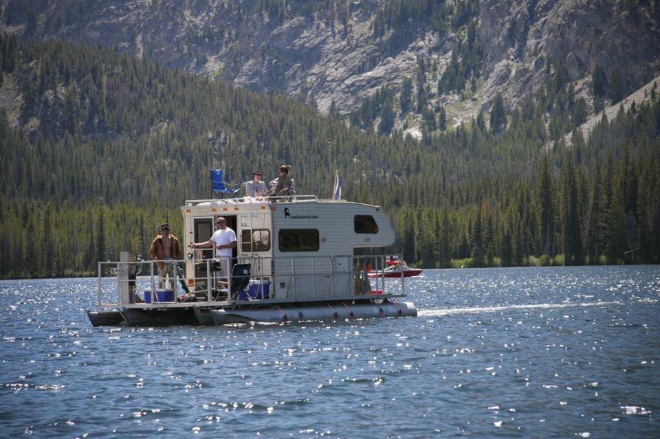 House Boat Camper