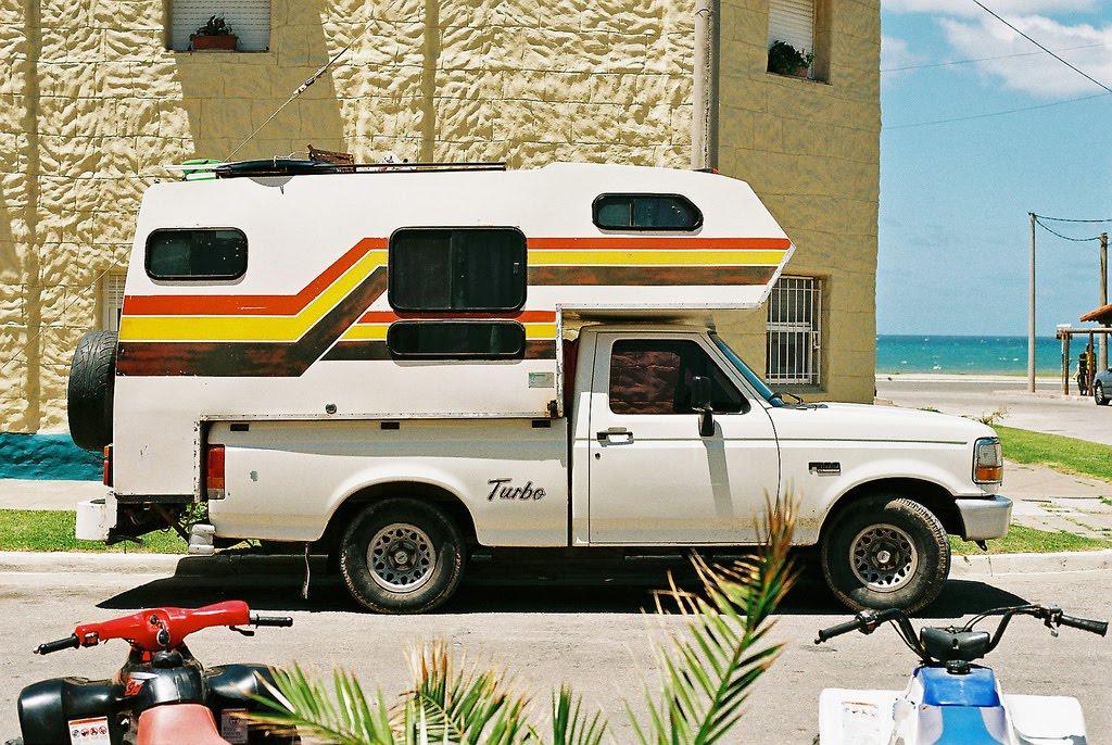 Wild Stripe Truck Camper