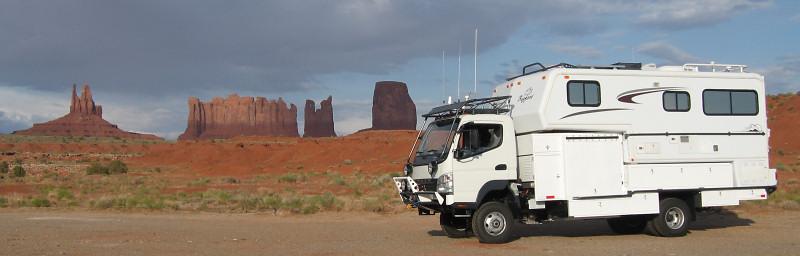 Off Road Overland Truck Camper