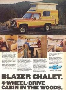Chevy Blazer Calet Advertisement