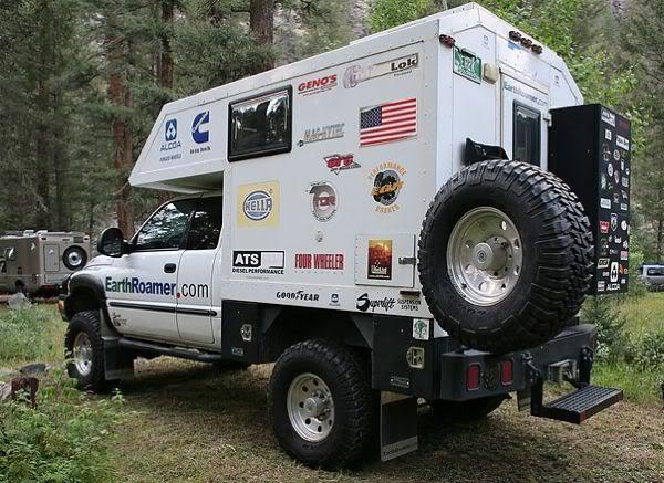 Earthroamer Truck Camper