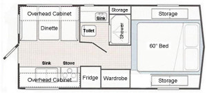 floor plan big foot w labels