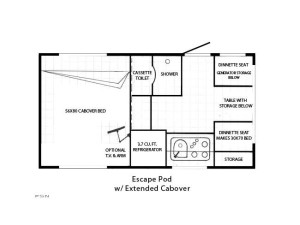 Northstar Escape Pod Floor Plan