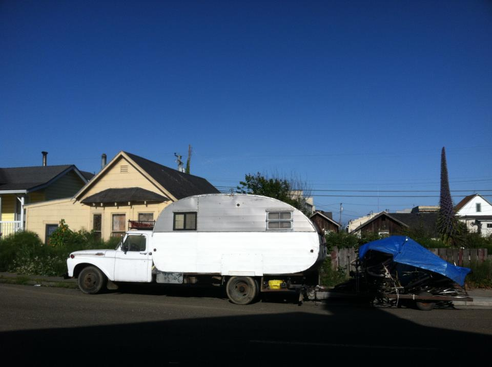 Combo Truck Camper Trailer