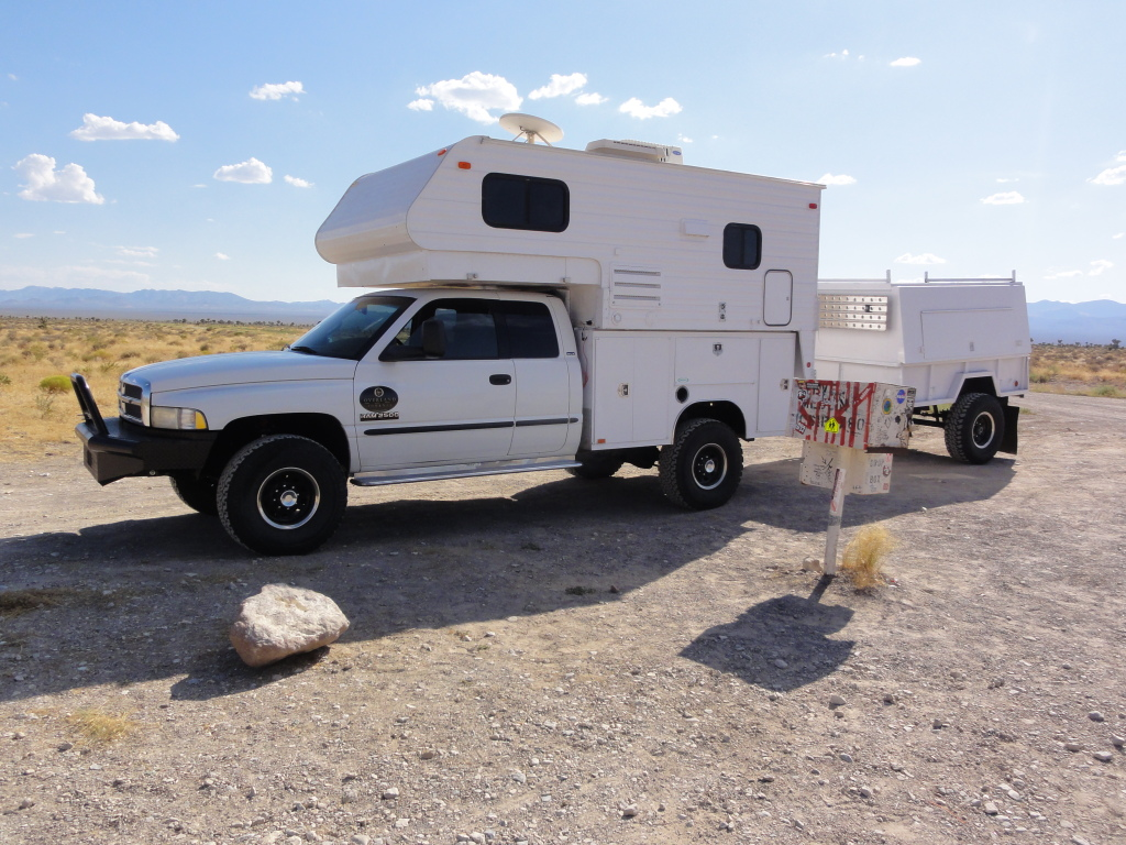Dodge Ram Camper with Trailer