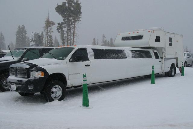 Limo Truck Camper