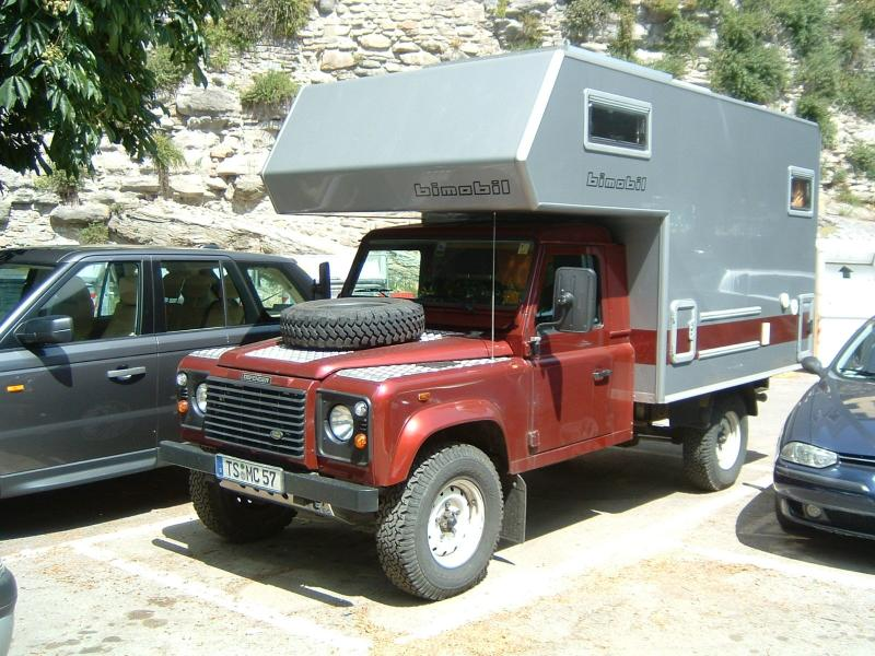 Red Lad Rover Dismountable Bimobil Camper