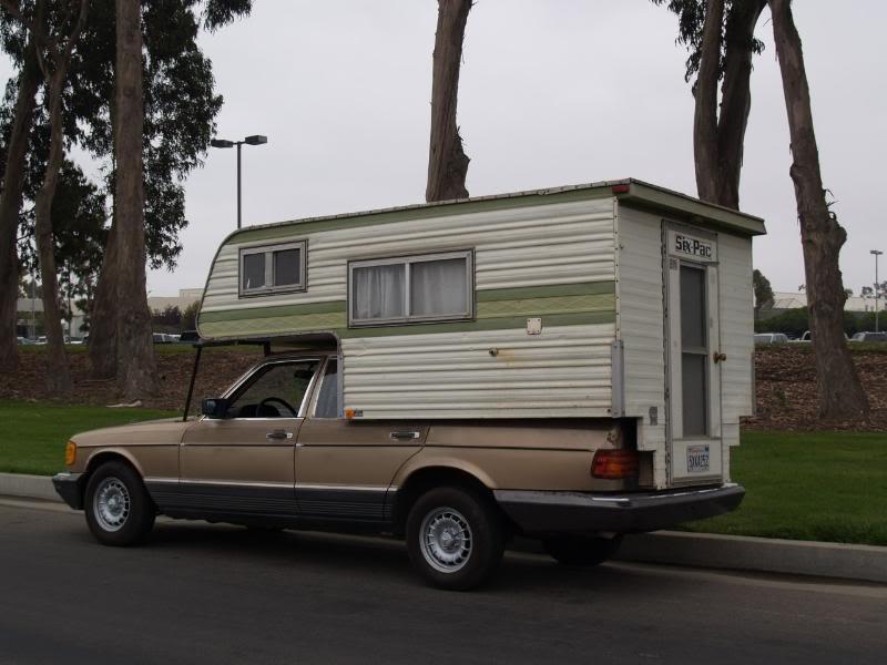 Sedan Style SixPac Camper