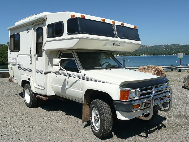 Toyota Fiberglass Camper