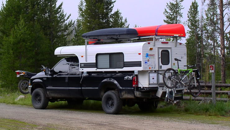 Black Truck Alaskan Cab Over