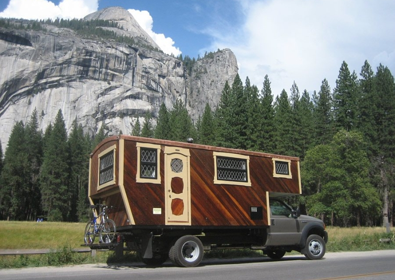 Check Out This Beautiful Custom Adventure Vehicle Truck