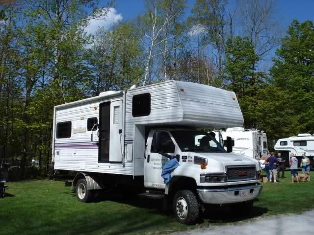 GMC Camper Motorhome