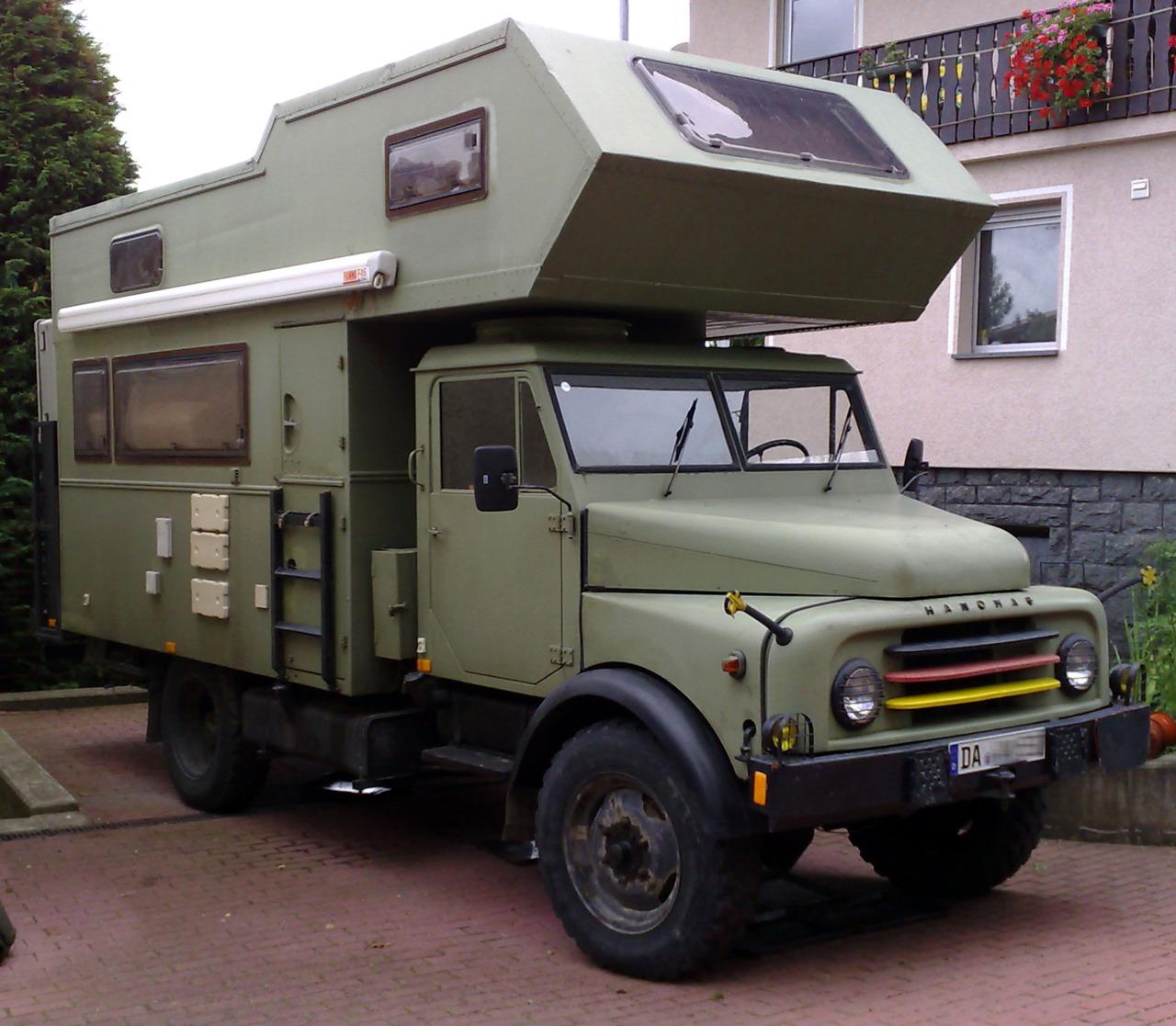 hanomag al28 truck camper