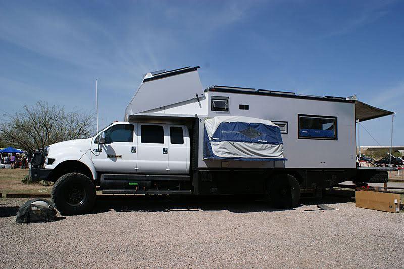Huge Truck Camper
