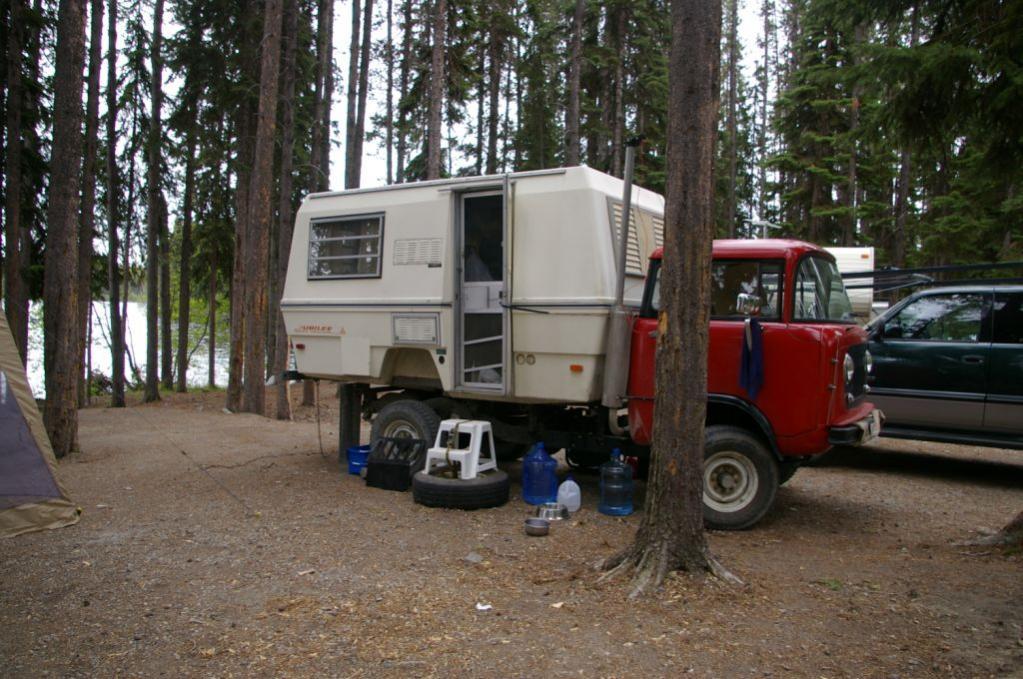 Jeep FC 170 Trailer Camper