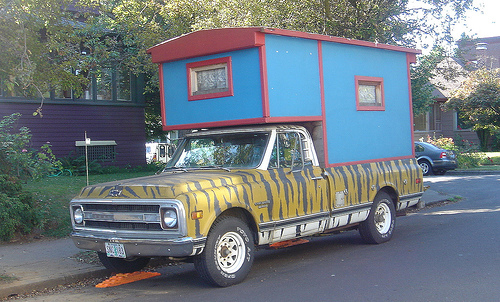 Tiger Truck Camper