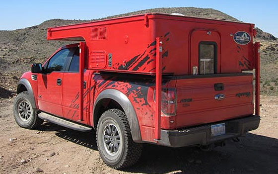 ford phoenix low profile camper