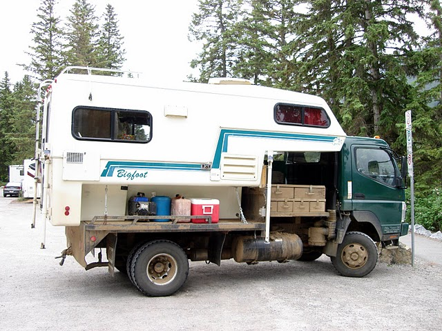 Fuso COE Flatbed Bigfoot Camper