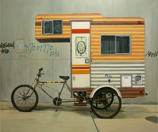 Camper Bike Kevin Cry