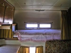 Interior Bunk Silver Streak Camper