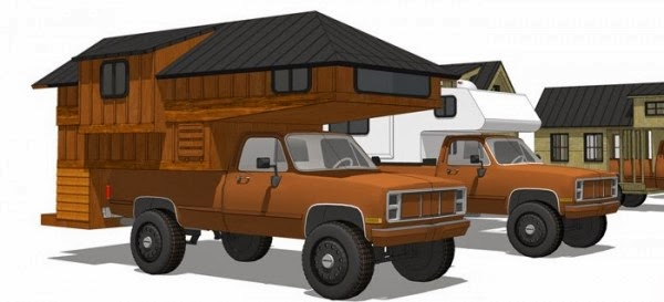 truck camper tiny home