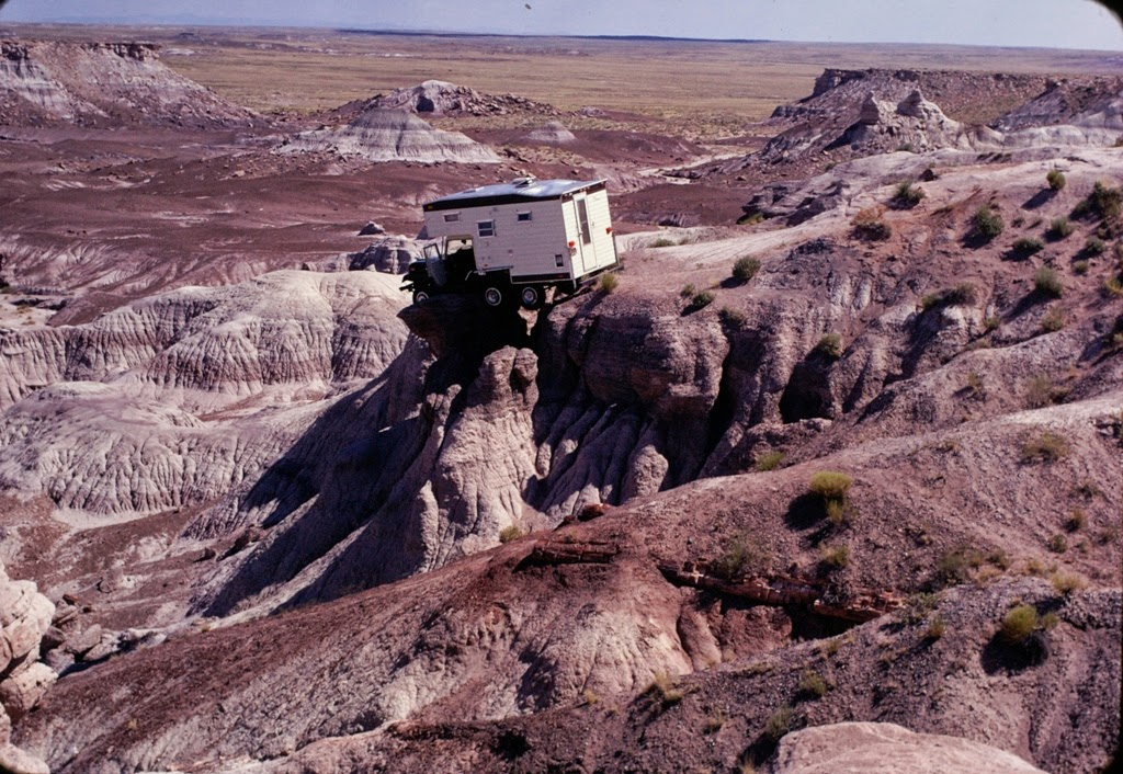 Jeep CJ5 Camper Petrified Forest