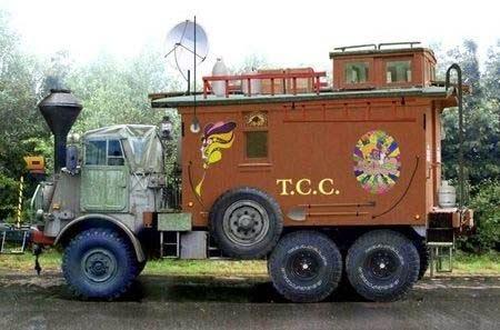 Military Caboose Camper