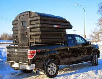 Ice Fishing Shack Camper Truck Camper Hq