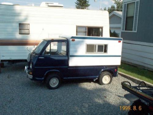Subaru 360 Truck Camper Motorhome