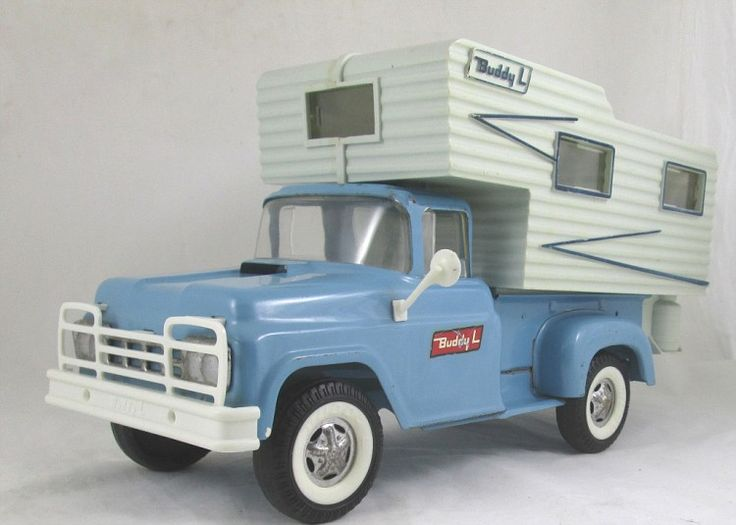Buddy-L Truck Camper Toy