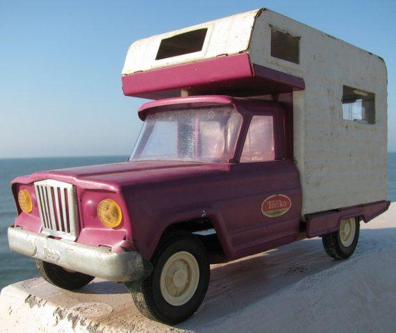 Jeef Tonka Truck Camper Toy