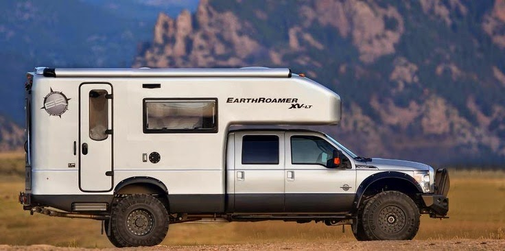 Truck Camper Earth Roamer