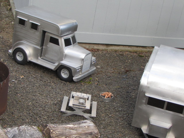 Toy Camper Set
