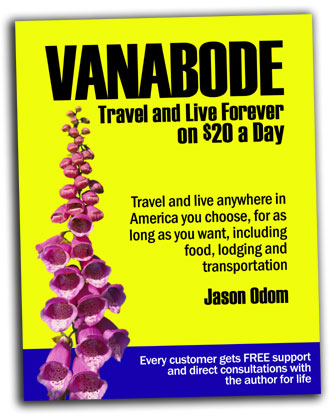 VaneAbode Live on and travel on $20 a day