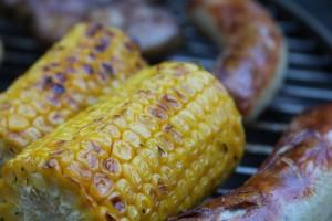 barbecue Grill Corn Sausage