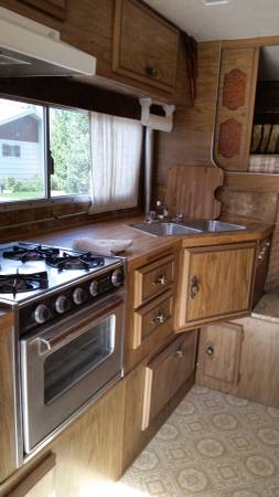 Dreamer Camper Interior Kitchen on 1980 Dodge Dakota
