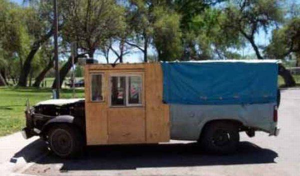 Box truck Camper