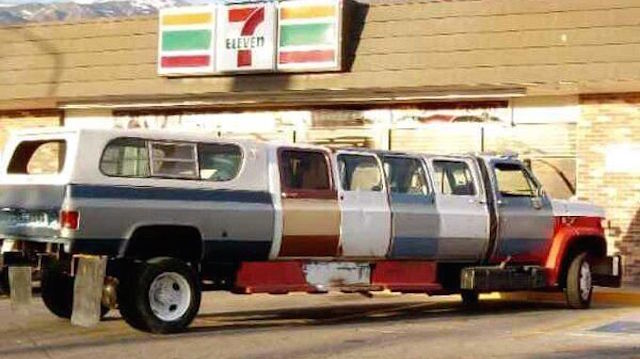 Super Extra Extra Cab Truck Camper