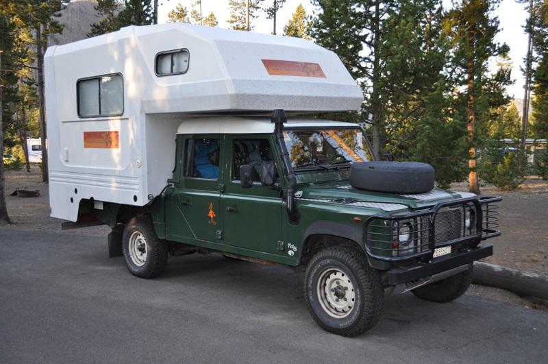 Land Rover TD5 Camper